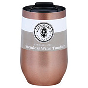 Haven & Key Stainless Steel Stemless Wine Rose Gold 16oz