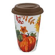 Haven & Key Stoneware Fall Travel Mug