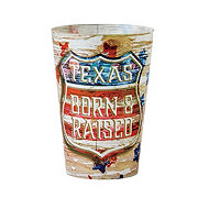 Haven & Key Vintage Texas Double Old Fashioned Tumbler