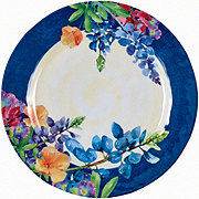 Haven And Key Bluebonnet Dinner Plate