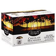 Hawaiian Isles Kona Coffee Chocolate Macadamia Nut