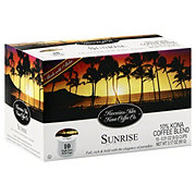 Hawaiian Isles Kona Coffee Sunrise Single Serve Coffee K Cups