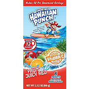 Hawaiian Punch Fruit Juicy Red 12 QT Drink Mix Packs