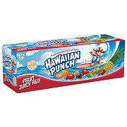 Hawaiian Punch Fruit Juicy Red Juice Drink 12 oz Cans