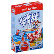 Hawaiian Punch Singles to Go! Sugar Free Juicy Red Fruit Drink Mix