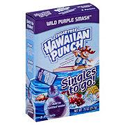Hawaiian Punch Singles to Go! Sugar Free Wild Purple Smash Drink Mix