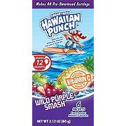 Hawaiian Punch Wild Purple Smash 12 qt Drink Mix Packets