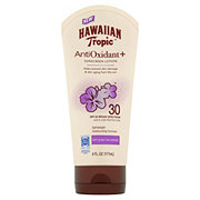 Hawaiian Tropic Antioxidant + Sunscreen Lotion SPF 30