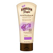 Hawaiian Tropic Antioxidant + Sunscreen Lotion SPF 50
