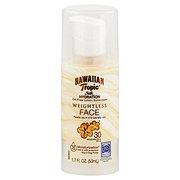 Hawaiian Tropic Silk Hydration Weightless Face SPF 30 Sunscreen