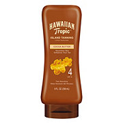 Hawaiian Tropic Tanning Lotion Sunscreen SPF 4