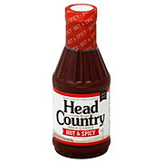 Head Country Hot & Spicy Bar-B-Q Sauce