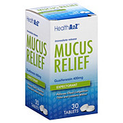 Health A2Z Mucus Relief Expectorant Tablets