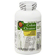 Health Plus Inc. Super Colon Cleanse Psyllium 500 mg Capsules
