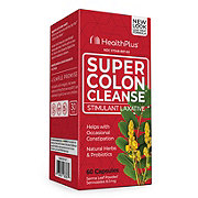 Health Plus Inc. Super Colon Cleanse Stimulant Laxative Capsules