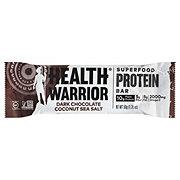 Health Warrior Dark Chocolate Coconut Sea Salt Protein Bar