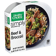 Healthy Choice Cafe Steamers Beef & Broccoli