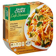 Healthy Choice Cafe Steamers Red Pepper Chicken Alfredo