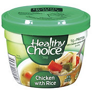 Healthy Choice Chicken with Rice Soup