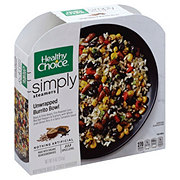 Healthy Choice Simply Cafe Steamers Unwrapped Burrito Bowl