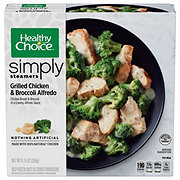 Healthy Choice Simply Grilled Chicken & Broccoli Alfredo