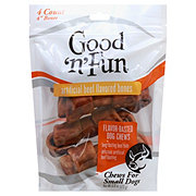 Healthy Hide Good 'n' Fun 4 in Beef Flavored Bones Dog Treats