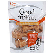 Healthy Hide Good 'n' Fun 4 in Chicken Flavored Bones Dog Treats