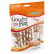 Healthy Hide Good 'n' Fun Triple Flavor Chews