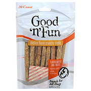 Healthy Hide Good 'n' Fun Chicken Flavor Crunchy Sticks Dog Treats