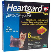 Heartgard Plus For Dogs Up To 25 LBS