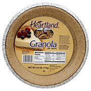 Heartland Granola Pie Crust