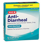 HEB Anti-Diarrheal Caplets