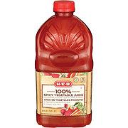 HEB HEB 100% Spicy Vegetable Juice