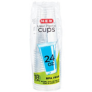 HEB HEB Clear Cups 24oz