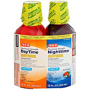 HEB Maximum Strength Daytime & Nighttime Severe Cold & Flu Liquid