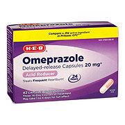 HEB Omeprazole Delayed Release Acid Reduce Capsules