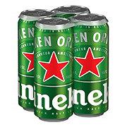 Heineken Lager Beer 16 oz Cans