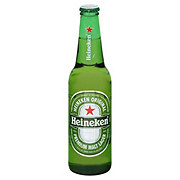 Heineken Lager Beer Bottle