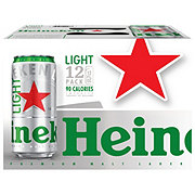 Heineken Light Lager Beer 12 oz Cans