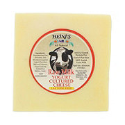 Heini's All Natural Raw Milk Yogurt Cultured Cheese