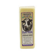 Heini's Raw Milk Cheddar