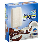 Helados Mexico Coconut Ice Cream Bars ‑ Shop Bars & Pops at