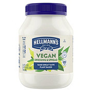 Hellmann's Carefully Crafted Vegan Dressing and Sandwich Spread