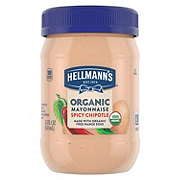 Hellmann's Organic Mayonnaise Spicy Chipotle