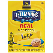 Hellmann's Real Mayonnaise To Go Packets