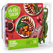 Hello Fresh Balsamic Fig Chicken with Green Beans & Potatoes