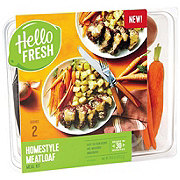 Hello Fresh Homestyle Meatloaf Meal Kit