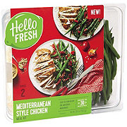 Hello Fresh Mediterranean Style Chicken Meal Kit