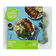 Hello Fresh Peppercorn Steak Meal Kit