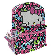 Hello Kitty Allover Print Backpack